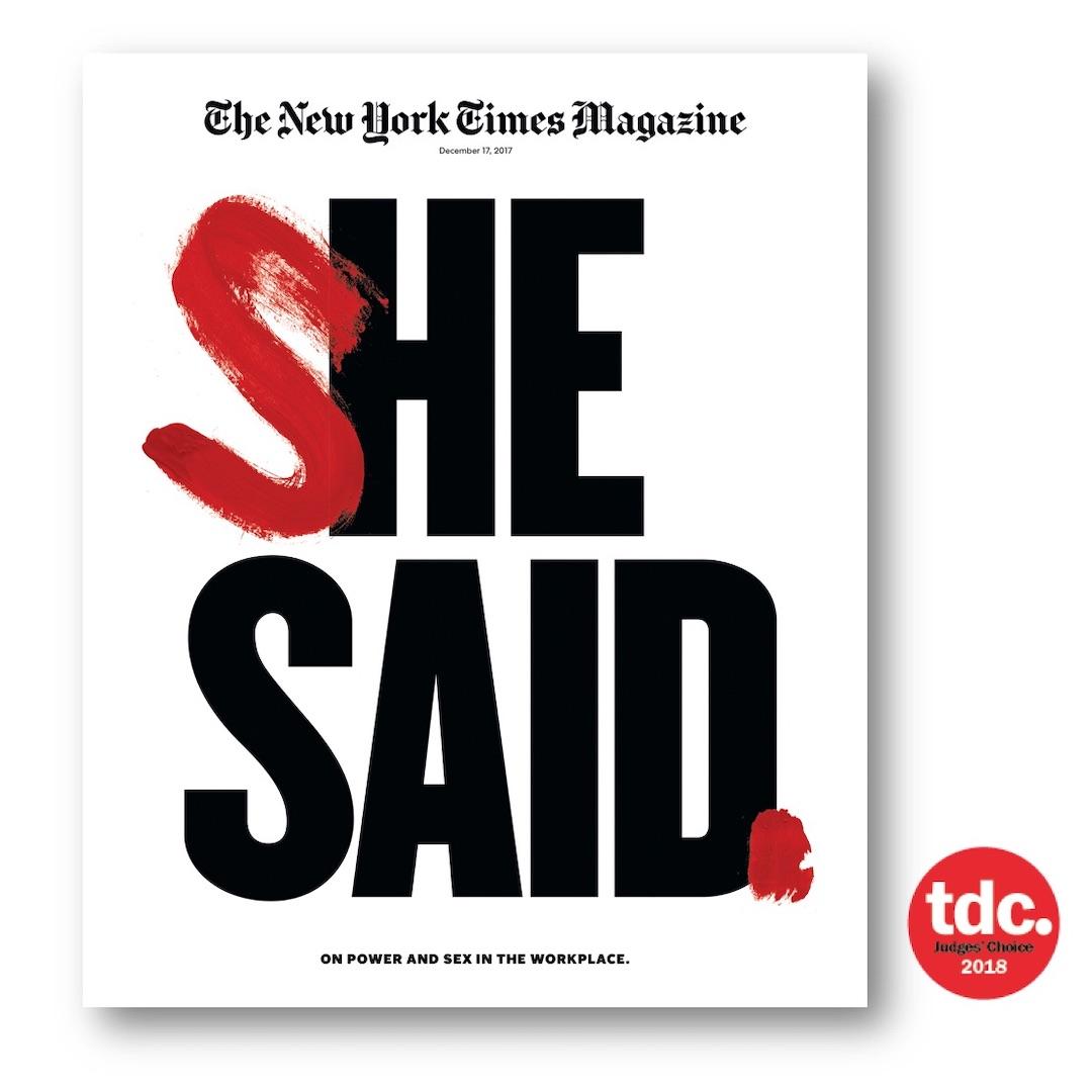 Magazine cover york times new bars