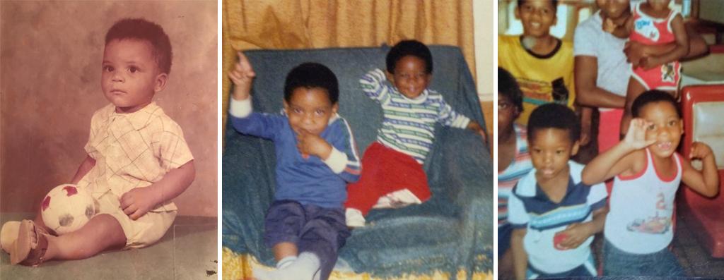 Douglas Davis Childhood